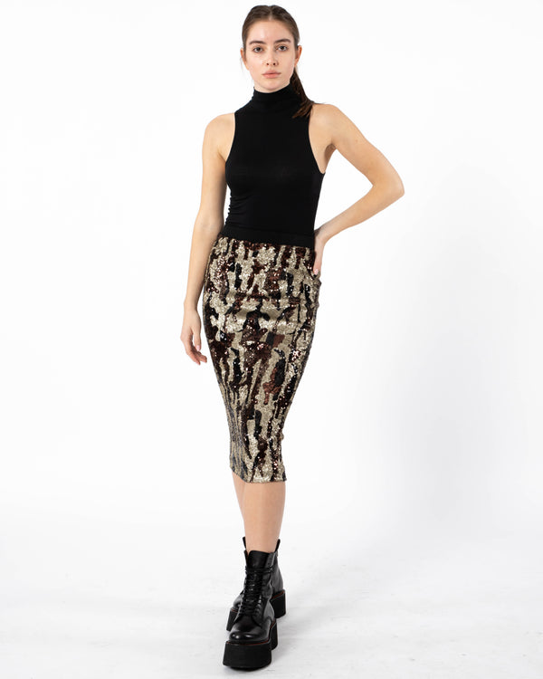 LE SUPERBE - Liza Skirt | Luxury Designer Fashion | tntfashion.ca