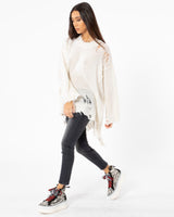 R13 Distressed Patti Sweater | newtntfashion.