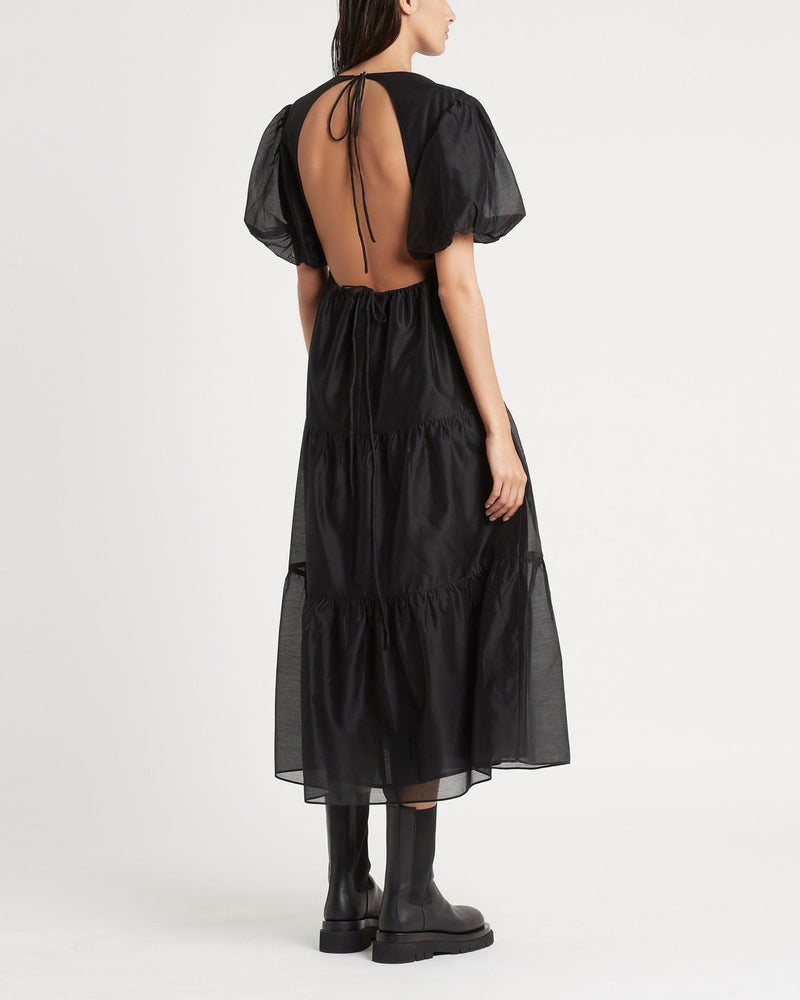 SIR - Amerie Open Back Dress | Luxury Designer Fashion | tntfashion.ca
