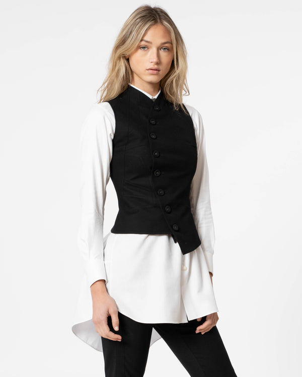 SHIRO SAKAI Vest With Buttons | newtntfashion.