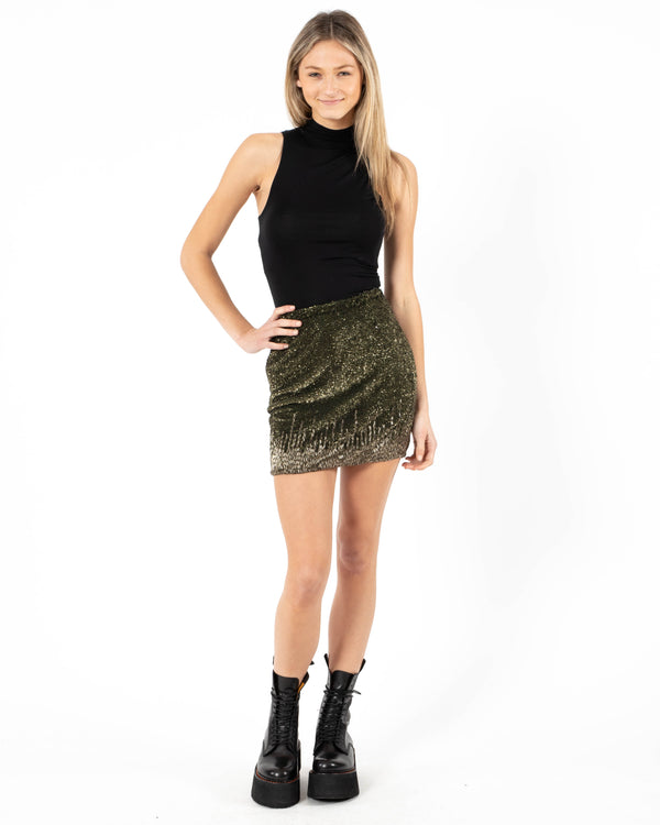 FLOWER POP - Mini Dallas Skirt | Luxury Designer Fashion | tntfashion.ca
