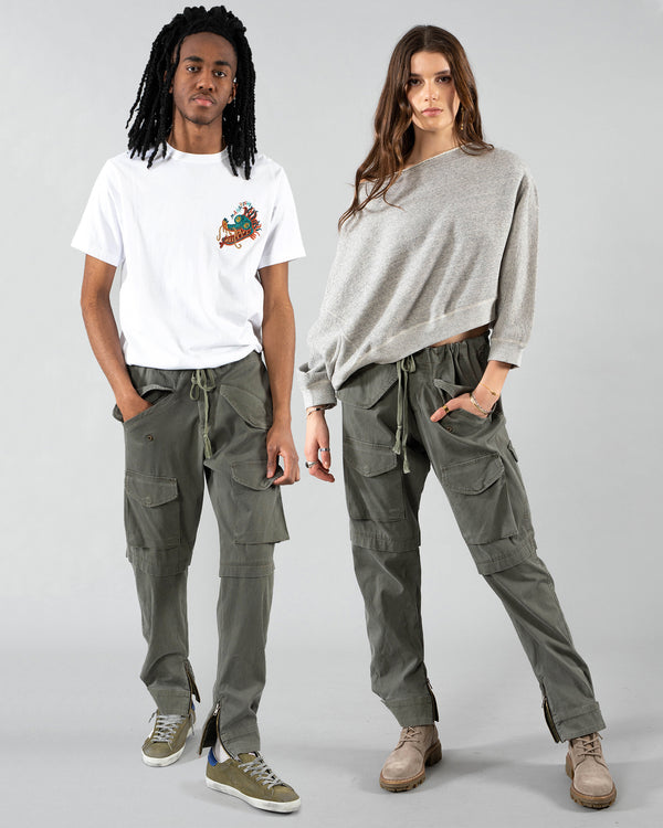 GREG LAUREN - Cargo Lounge Pants | Luxury Designer Fashion | tntfashion.ca