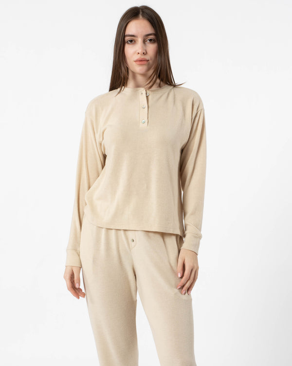 DONNI - Henley Sweater | Luxury Designer Fashion | tntfashion.ca