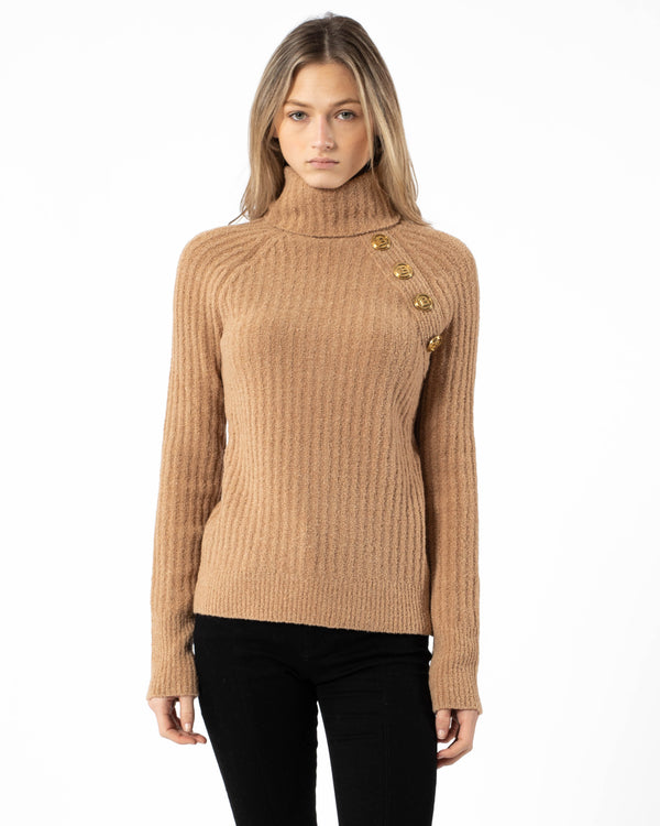BALMAIN - Turtleneck Sweater | Luxury Designer Fashion | tntfashion.ca