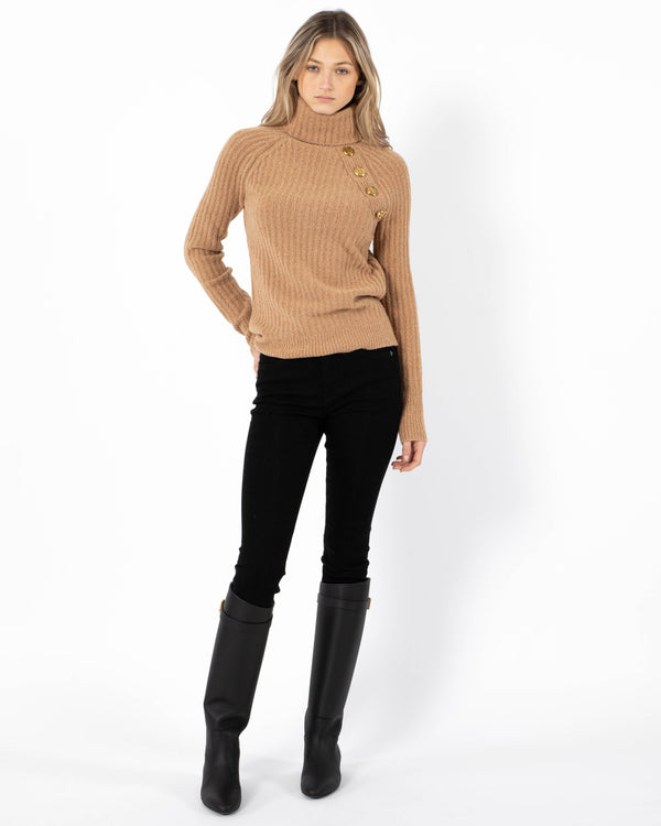 BALMAIN Turtleneck Sweater | newtntfashion.