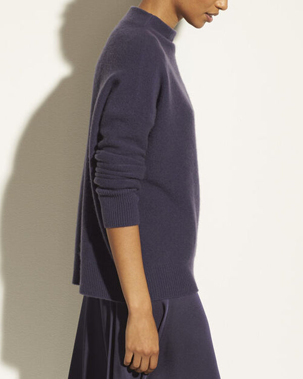 VINCE - Boiled Funnel Neck Pullover | Luxury Designer Fashion | tntfashion.ca