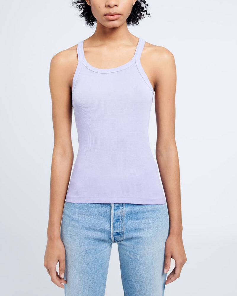 RE/DONE - Ribbed Tank Top | Luxury Designer Fashion | tntfashion.ca