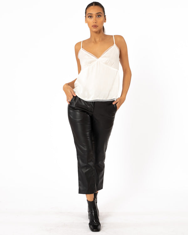 VELVET - Satin Cami Top | Luxury Designer Fashion | tntfashion.ca