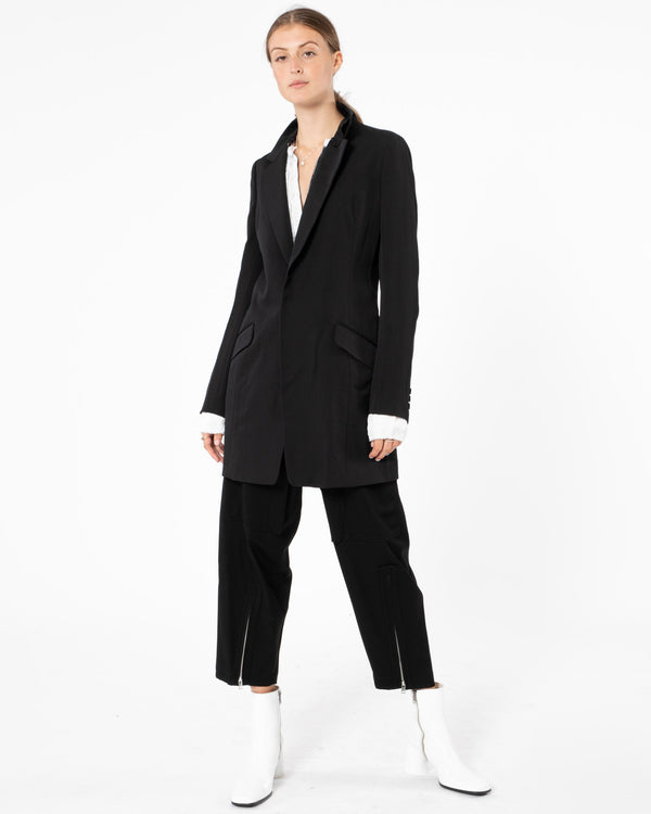 Y'S - U-Double Collar Tailored Jacket | Luxury Designer Fashion | tntfashion.ca