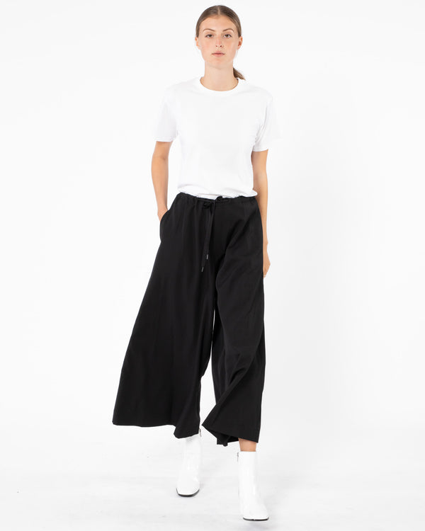 Y'S - N-Wide Flared Pant | Luxury Designer Fashion | tntfashion.ca