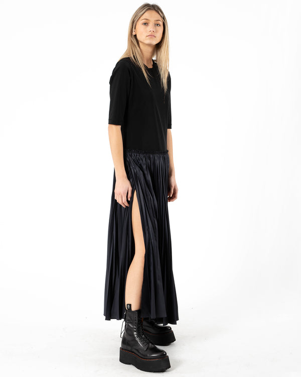 Y'S - K-Pleats Dress | Luxury Designer Fashion | tntfashion.ca