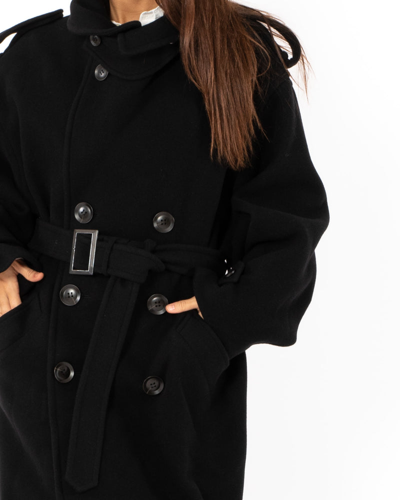 Y'S - U-Military Coat | Luxury Designer Fashion | tntfashion.ca
