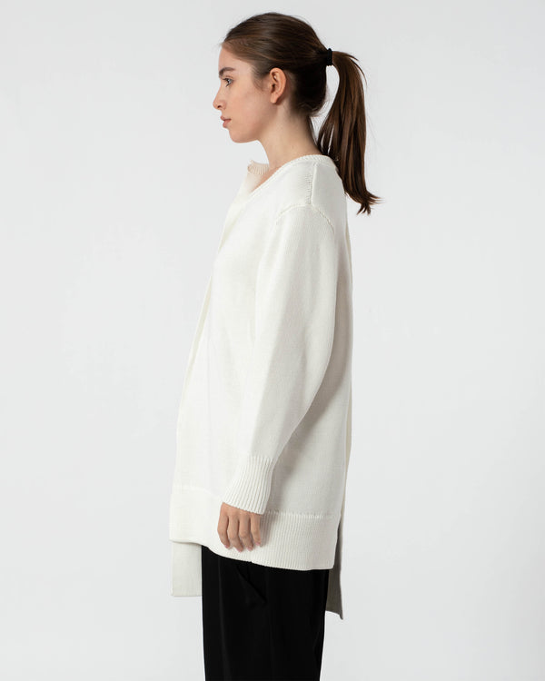 Y'S - Coloured Long Sleeve Top | Luxury Designer Fashion | tntfashion.ca