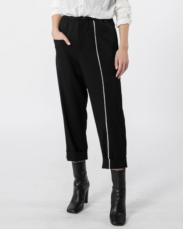 Y'S - N-Mackin Pk Lace Pants | Luxury Designer Fashion | tntfashion.ca