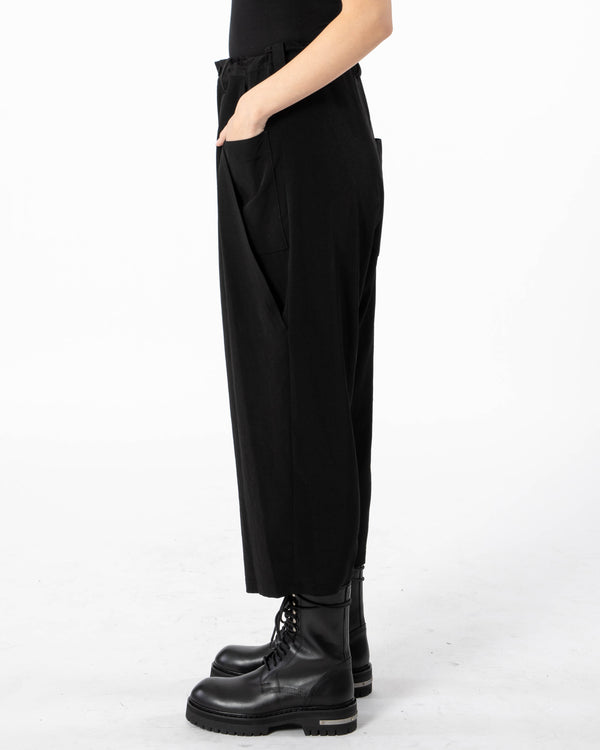 Y'S - S-Big Front Pocket Pants | Luxury Designer Fashion | tntfashion.ca