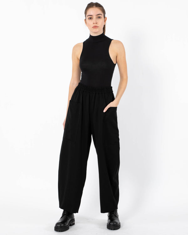 Y'S - N-Pocket Pants | Luxury Designer Fashion | tntfashion.ca