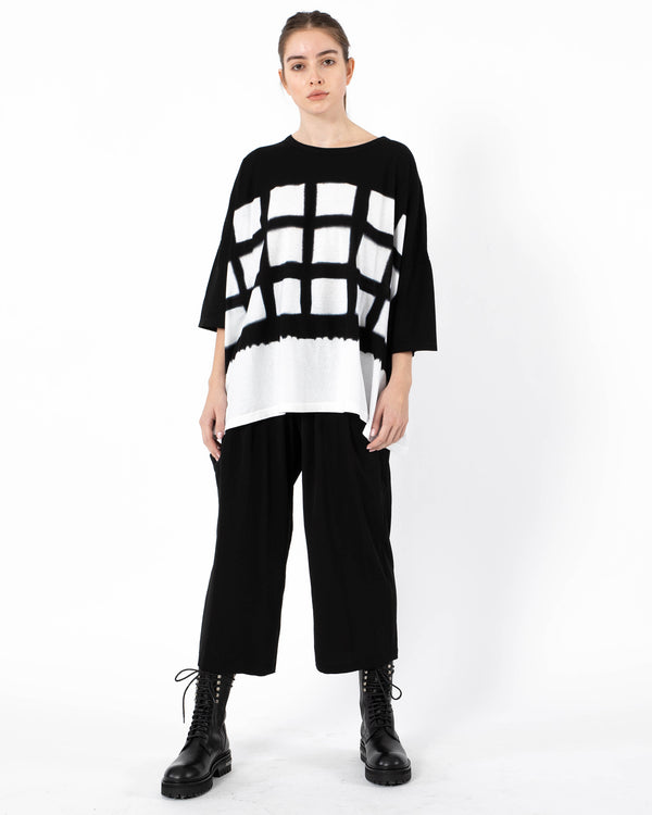 Y'S - O-Big T-Shirt | Luxury Designer Fashion | tntfashion.ca