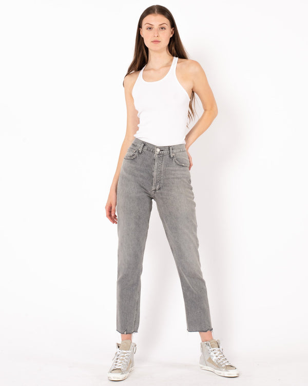 AGOLDE Nico High Rise Slim Jean | newtntfashion.