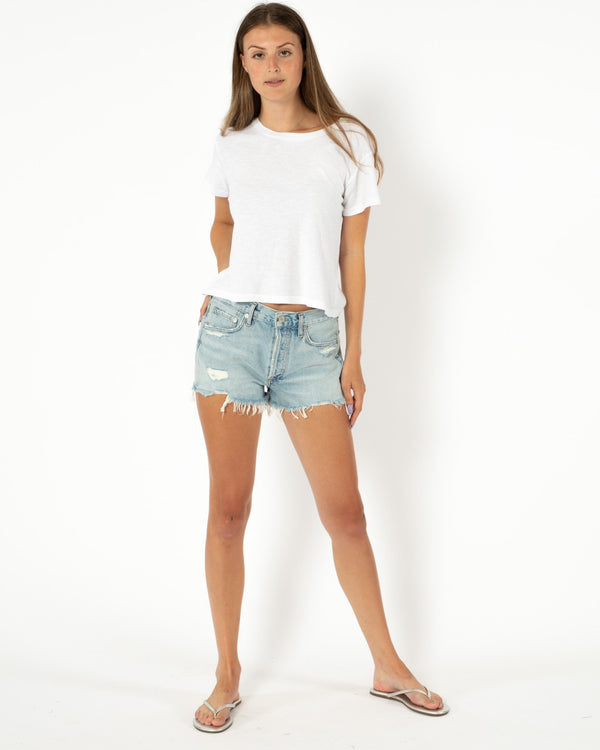 AGOLDE Parker Vintage Cut Off Shorts | newtntfashion.