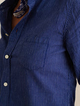 ALEX MILL - Shrunken Stripe Shirt | Luxury Designer Fashion | tntfashion.ca