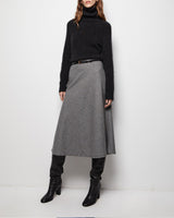 NILI LOTAN - Alvina Skirt | Luxury Designer Fashion | tntfashion.ca