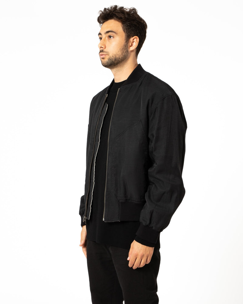 ANN DEMEULEMEESTER - Reversible Bomber | Luxury Designer Fashion | tntfashion.ca
