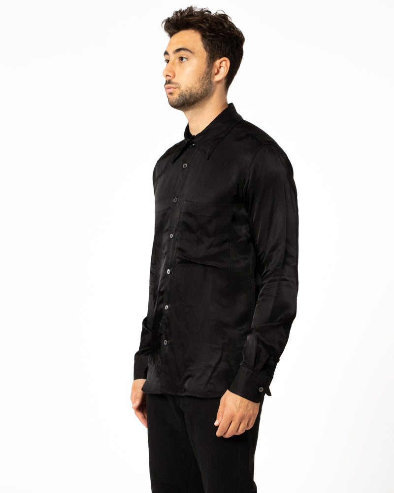 ANN DEMEULEMEESTER Silk Shirt | newtntfashion.