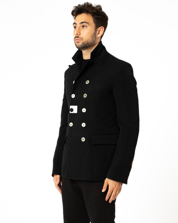 Wool Caban Jacket