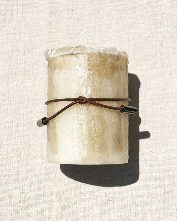 Small Fabric Candle