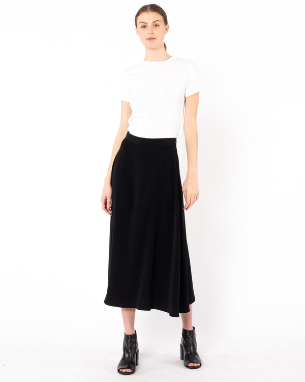 CO Japanese Stretch A-Line Skirt | newtntfashion.