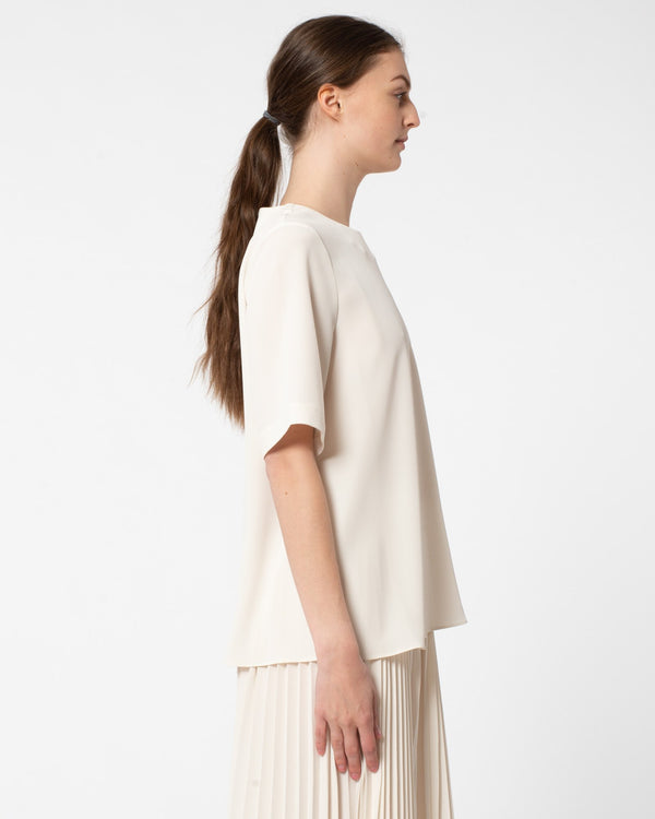 CO Japanese Stretch Short Sleeve Crepe Tee | newtntfashion.
