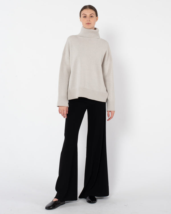 CO Wool Cashmere Boxy Turtleneck Sweater | newtntfashion.