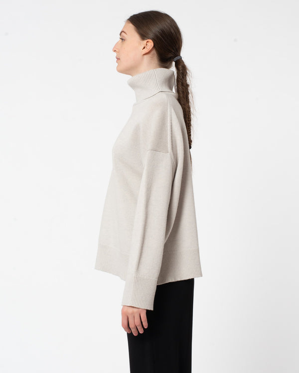 CO - Wool Cashmere Boxy Turtleneck Sweater | Luxury Designer Fashion | tntfashion.ca