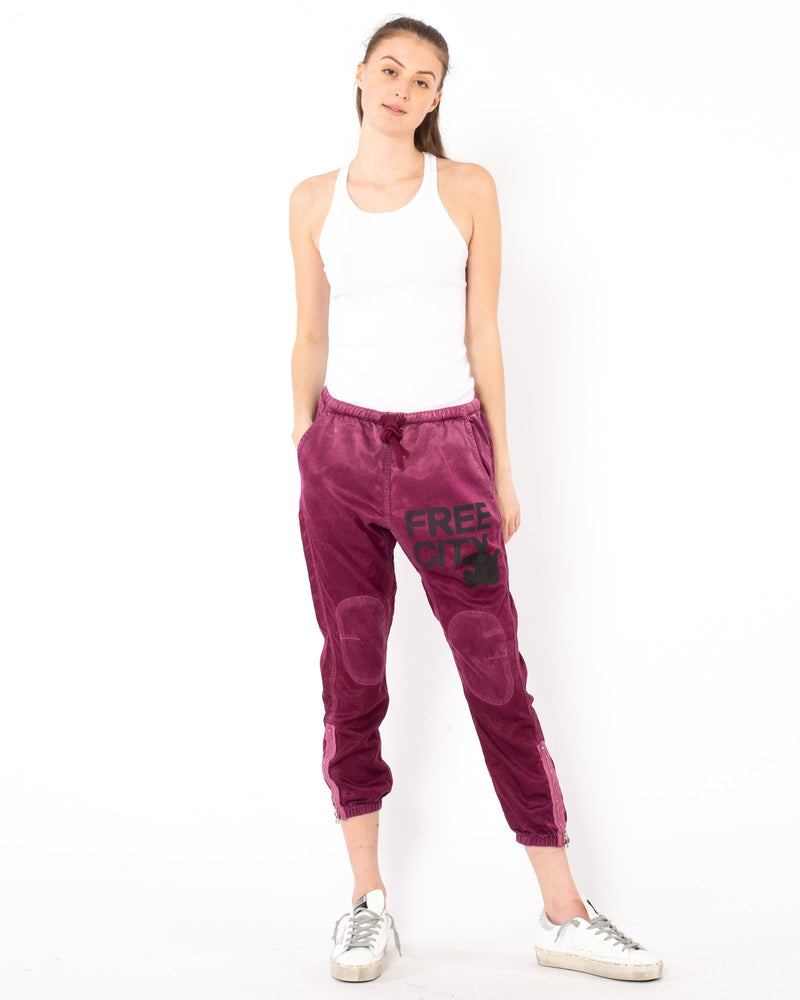 FREE CITY Satin Jump Pants | newtntfashion.