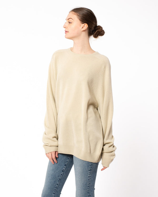 FRENCKENBERGER - Boyfriend Round Neck Sweater | Luxury Designer Fashion | tntfashion.ca