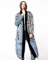 GREG LAUREN - 50/50 Kimono Robe | Luxury Designer Fashion | tntfashion.ca