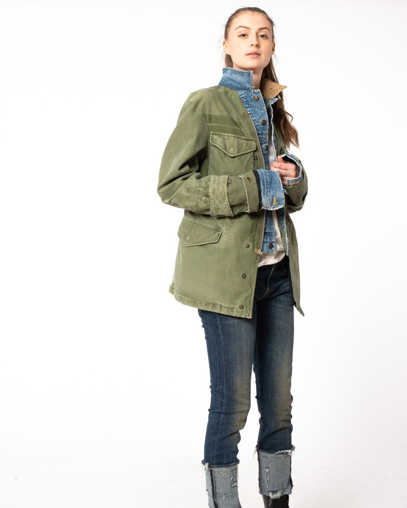 GREG LAUREN Trucker Ollie Jacket | newtntfashion.