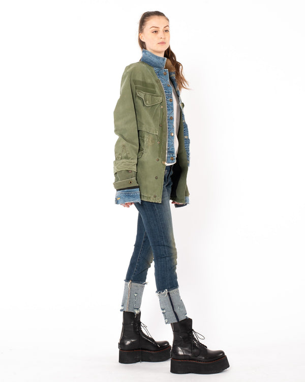 GREG LAUREN - Trucker Ollie Jacket | Luxury Designer Fashion | tntfashion.ca