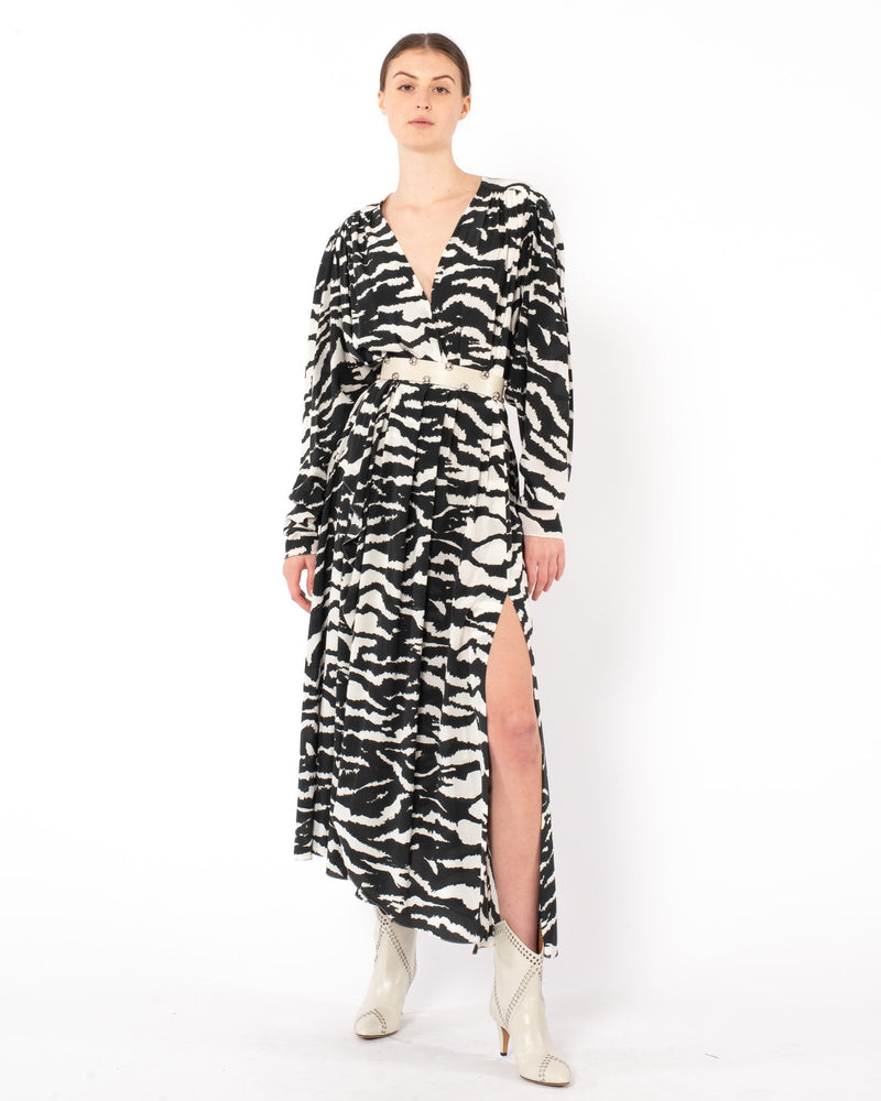 ISABEL MARANT Blaine Long Dress | newtntfashion.