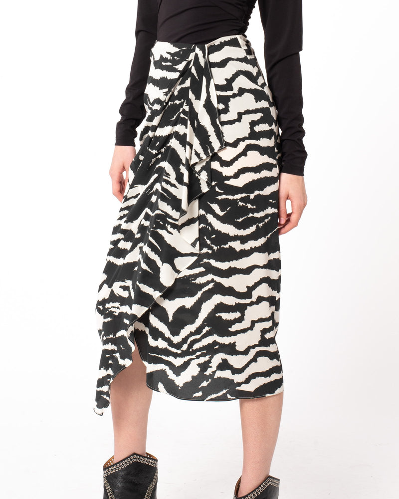 ISABEL MARANT - Fabiana Skirt | Luxury Designer Fashion | tntfashion.ca