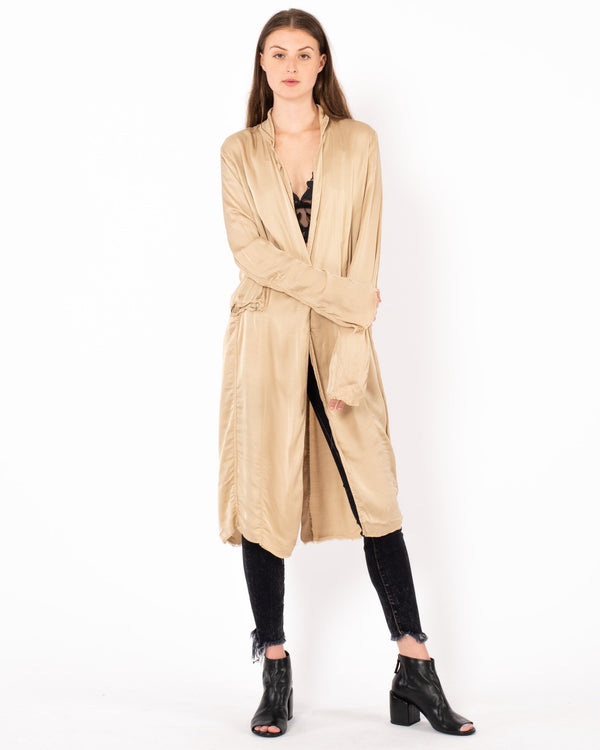 JAGA - Long Coat | Luxury Designer Fashion | tntfashion.ca