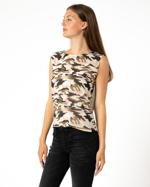 LOYD/FORD Camo Reverse Top | newtntfashion.
