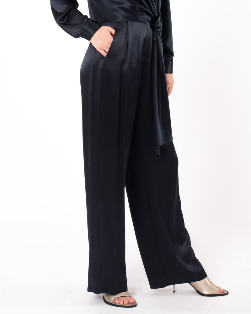 MICHELLE MASON - Wide Leg Trouser | Luxury Designer Fashion | tntfashion.ca