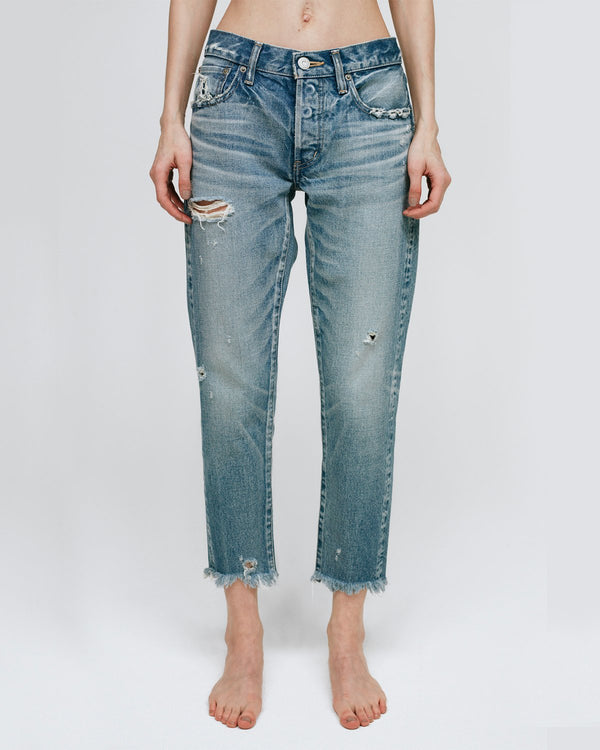 MOUSSY Low Rise Kelley Tapered Jean | newtntfashion.