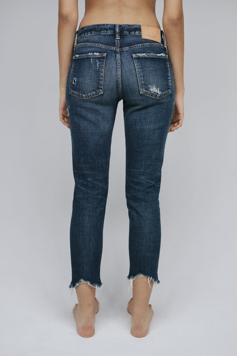 MOUSSY - Mid Rise Glendale Skinny Jean | Luxury Designer Fashion | tntfashion.ca