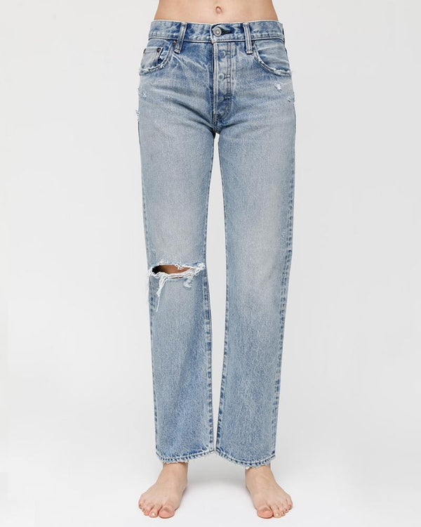 MOUSSY - Mid Rise Hesperia Straight Jean | Luxury Designer Fashion | tntfashion.ca