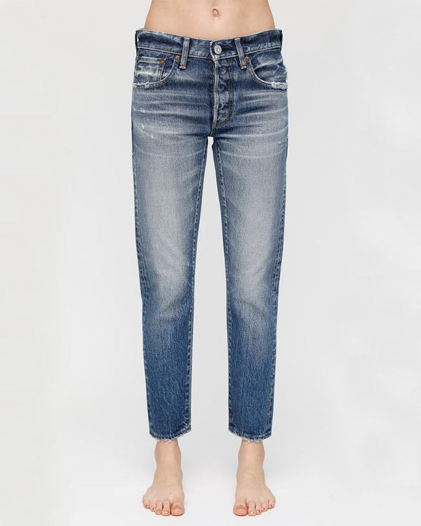 MOUSSY Mid Rise Vienna Tapered Jean | newtntfashion.