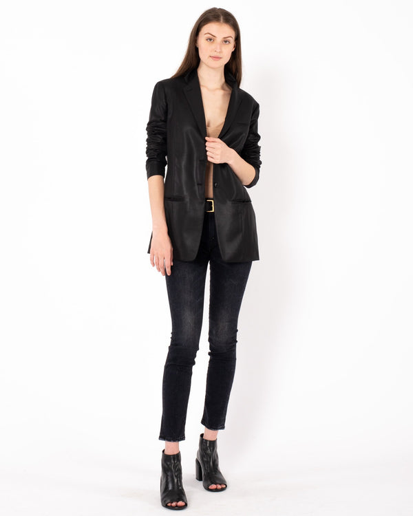 NELLS NELSON Water Repellent Two Button Blazer | newtntfashion.