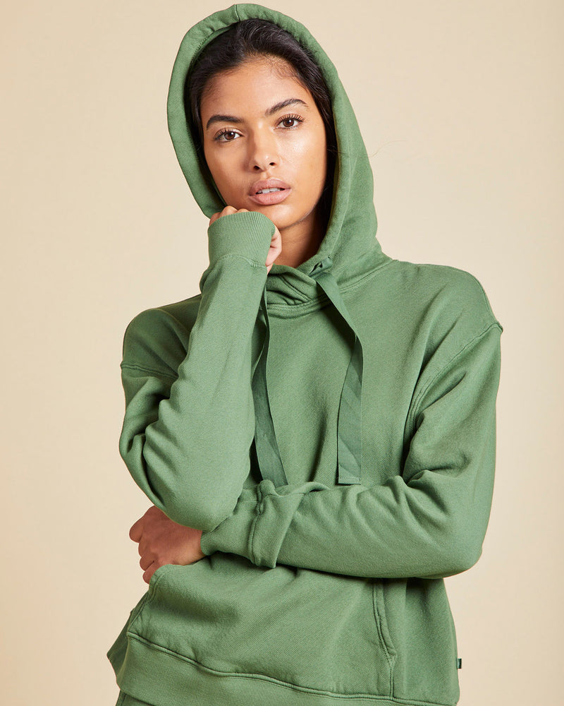 VELVET - Organic Fleece Hoodie | Luxury Designer Fashion | tntfashion.ca