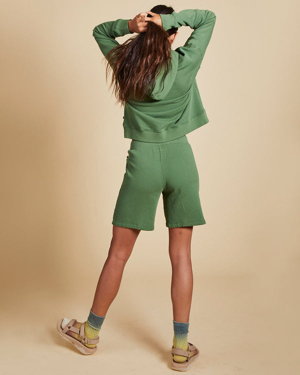 VELVET - Organic Fleece Shorts | Luxury Designer Fashion | tntfashion.ca